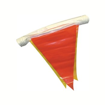 Red and Yellow Pennant Flags