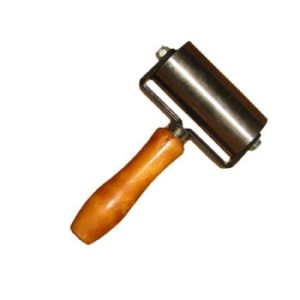 "2"" x 4"" Metal Double Fork Seam Roller"