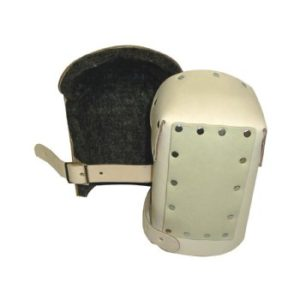 Heavy Duty Leather Kneepads